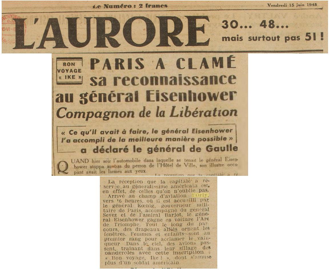 1945 - 15 juin - eisenhower