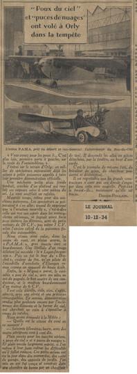 10/12/34 Le Journal
