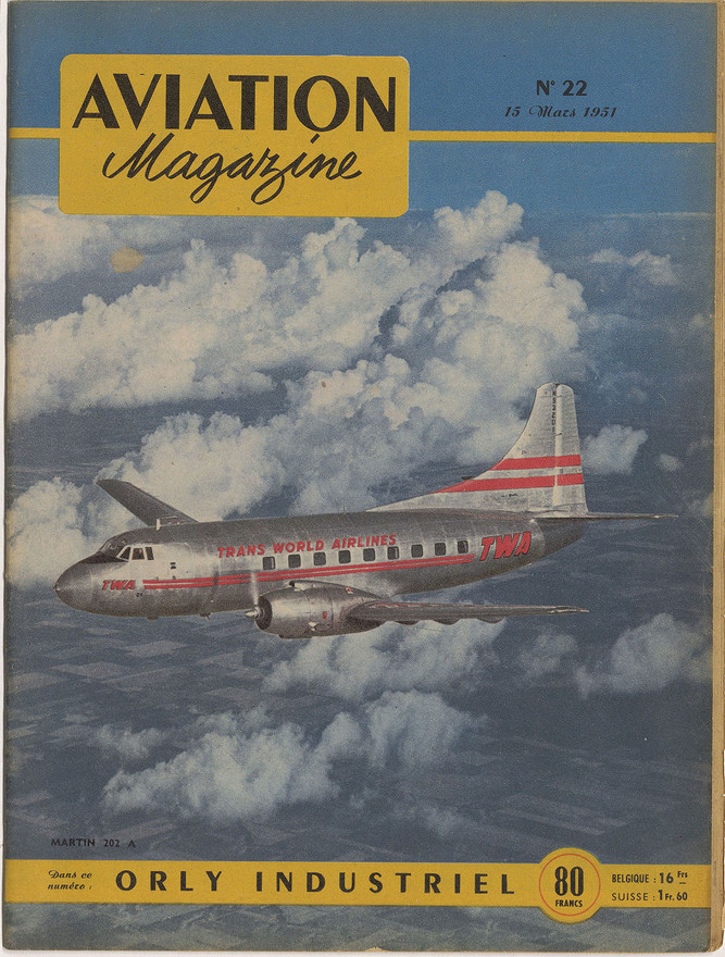 Aviation Magazine, numéro 22 - 15/03/51