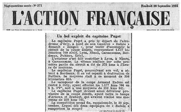28/09/34 L'Action Francaise