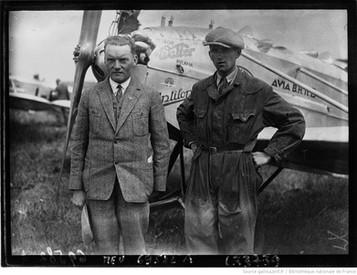 Orly : concours d'avions de tourisme : Kleps et Barta : [photographie de presse] / Agence Meurisse 1929