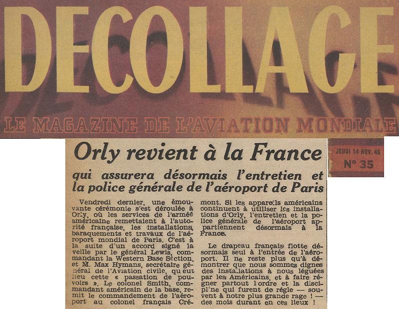 Magazine Decollage du 14/11/46