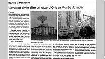 Radar TA10 Orly