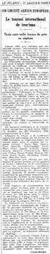 17/01/29 Le Figaro