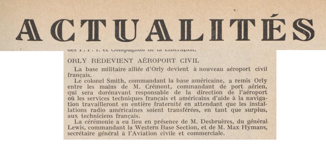 Revue Terre et Ciel - Novembre 1946