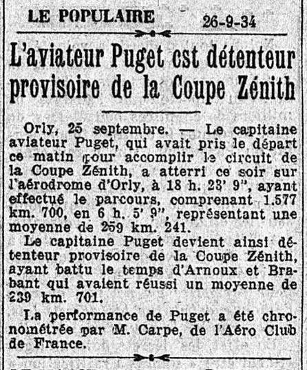26/09/34 Le Populaire