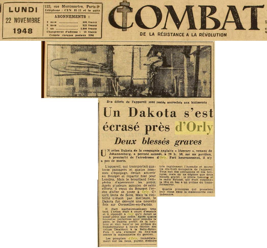22/11/48 - Journal Combat