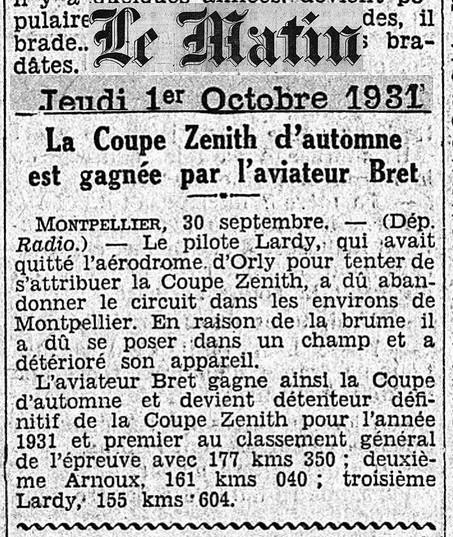 01/10/31 Le Matin