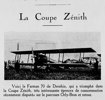 1926 - Juillet - L'Avion