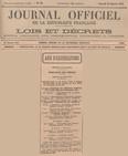 1932 - 30 Janvier - Journal Officiel