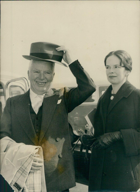 Charlie et Oona Chaplin 1959