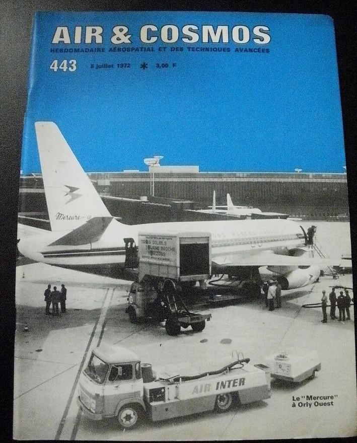 Air & Cosmos, numéro 443 - 08/07/72