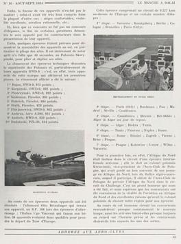 Aout-Septembre 1934 - Le Manche à Balai