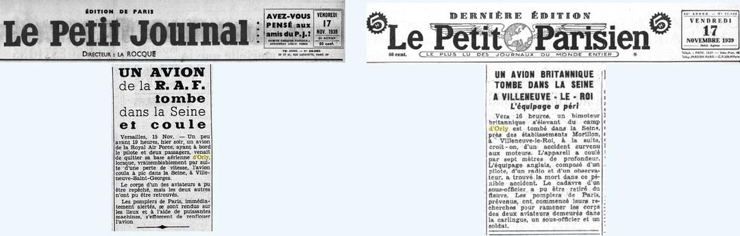 © Le Petit Parisien / Le Petit Journal du 17/11/19