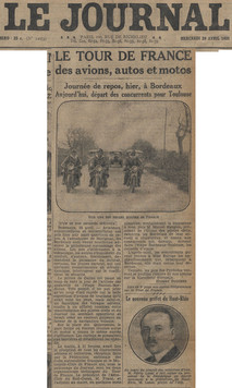 29 avril 1931 - Quotidien Le Journal (1/2)