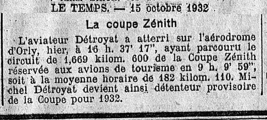 15/10/32 Le Temps
