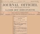 29/05/38 - Journal Officiel