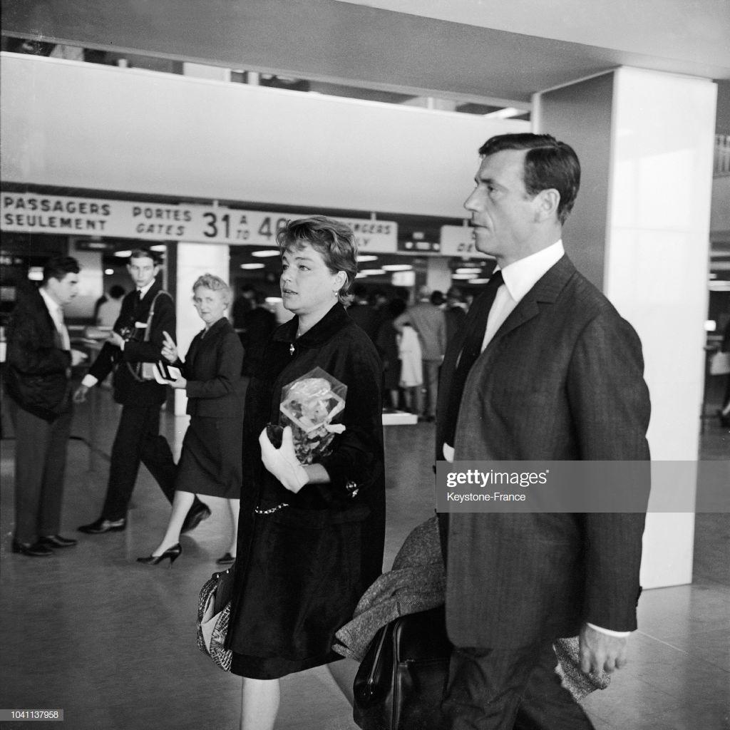 Yves Montand - Simone Signoret - 1961