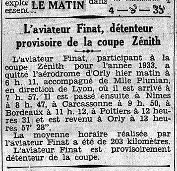 04/09/33 Le Matin