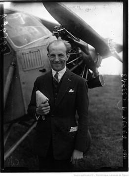 Orly : concours d'avions de tourisme : Maurice Weiss : [photographie de presse] / Agence Meurisse 1929