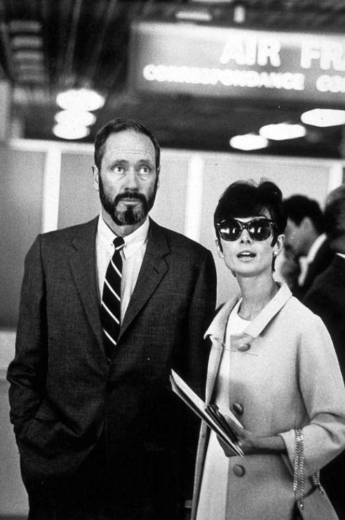 Audrey Hepburn - Mel Ferrer - 1965