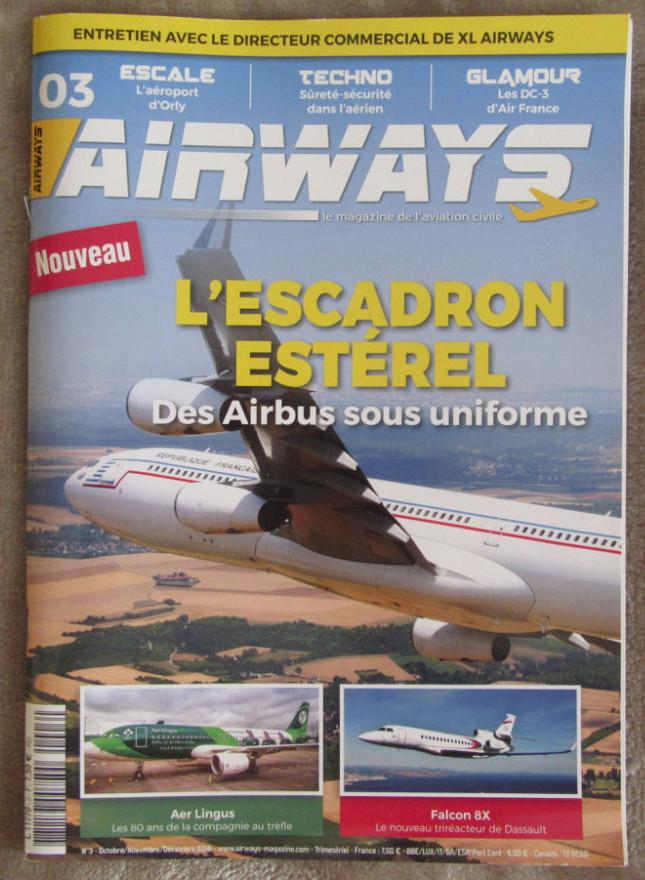 Airways, numéro 3 - Oct. Nov. Dec. 2016