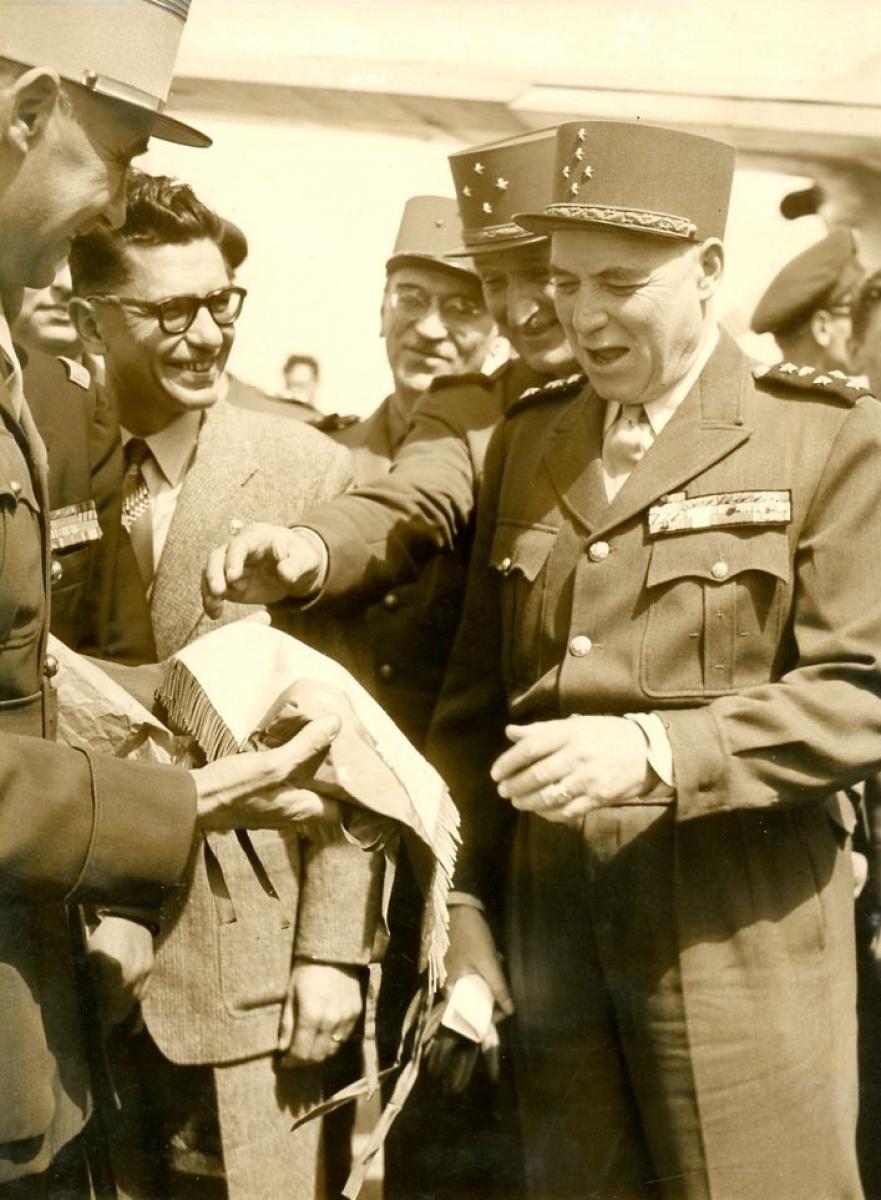 Marechal Juin - 1952