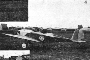 PETROL TEST AT THE ORLY MEETING: (4) Two B.F.W. monoplanes