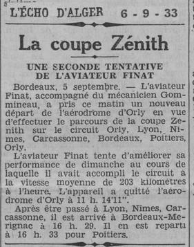 06/09/33 L'Echo d'Alger
