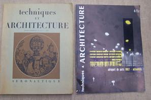 Techniques et Architecture 1947 et 1961