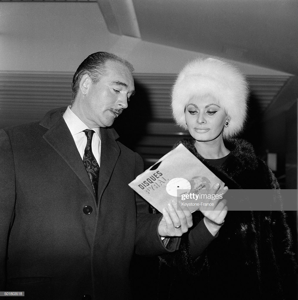 Eddie Barclay -  Sophia Loren - 1963
