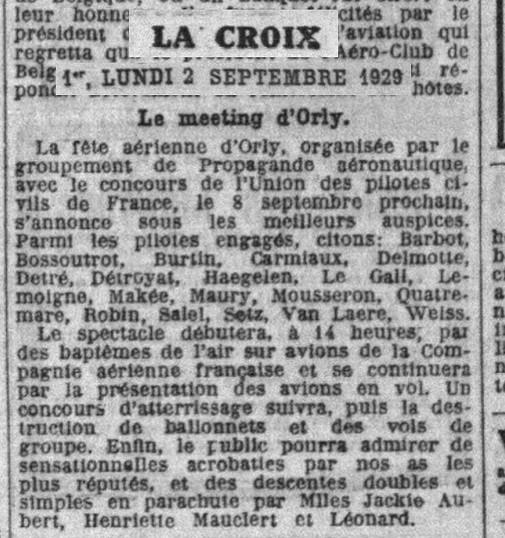 01/09/29 La Croix