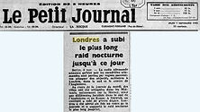 Bombardement Londres 1940 - Orly
