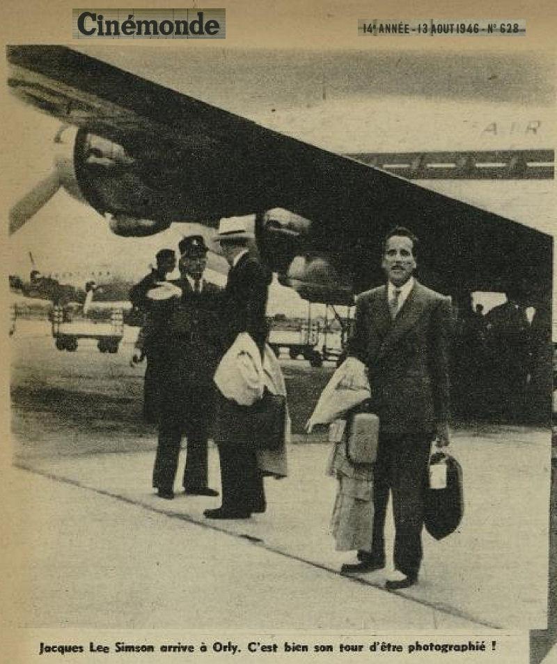 1946 - 13 aout - Jacques Lee Simson