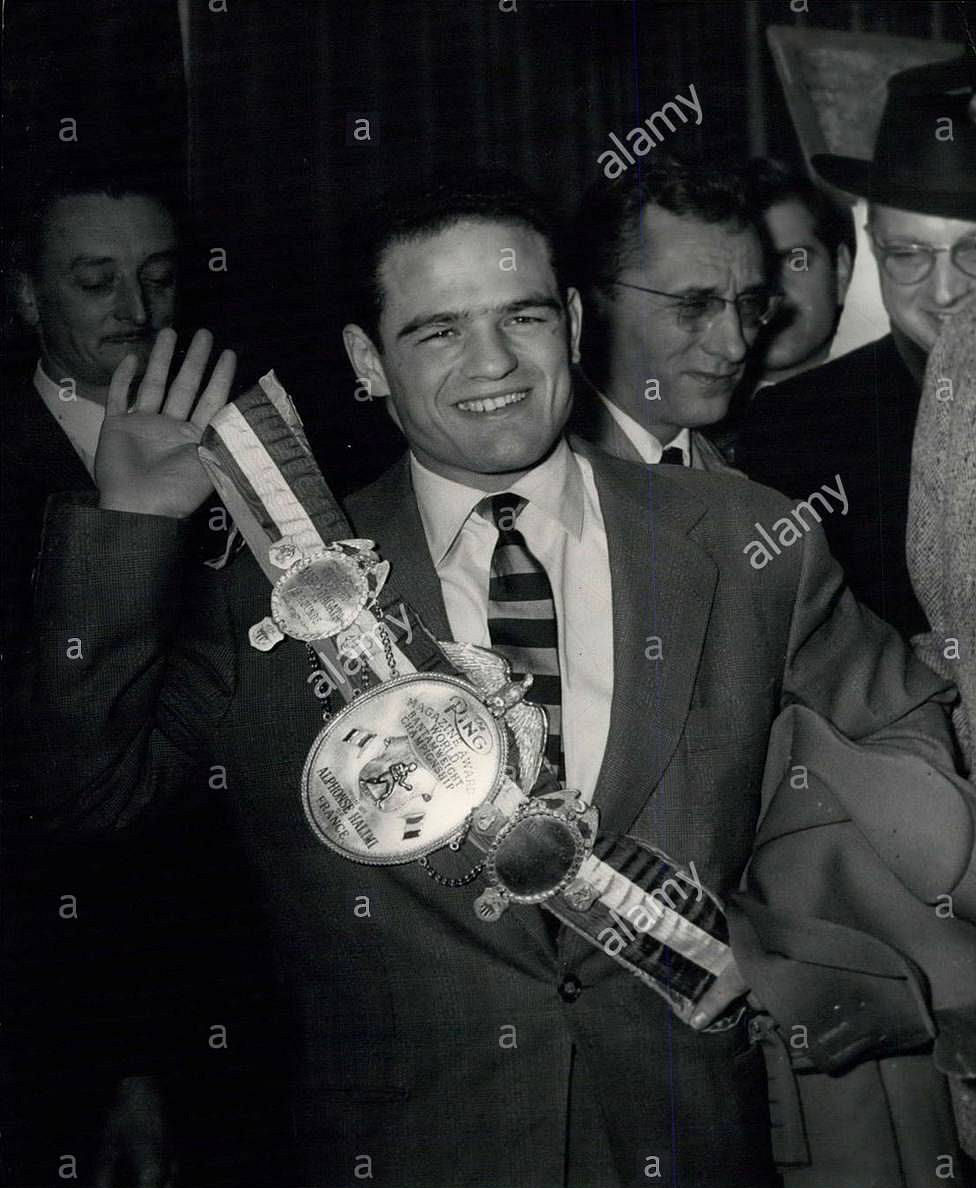 Alphonse Halimi - 1957