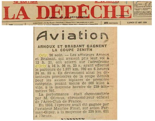 27/08/34 La Depeche