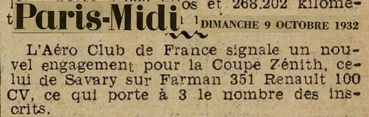 09/10/32 Paris Midi
