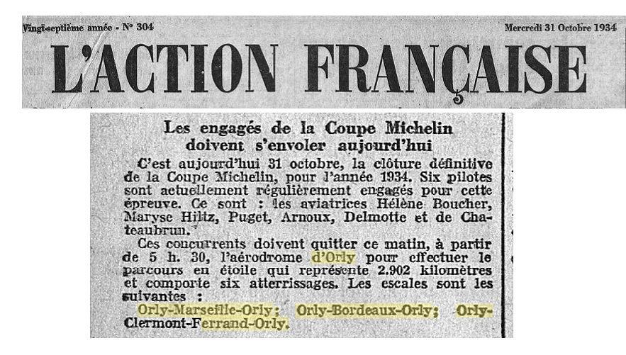 31/10/34 L'Action Francaise