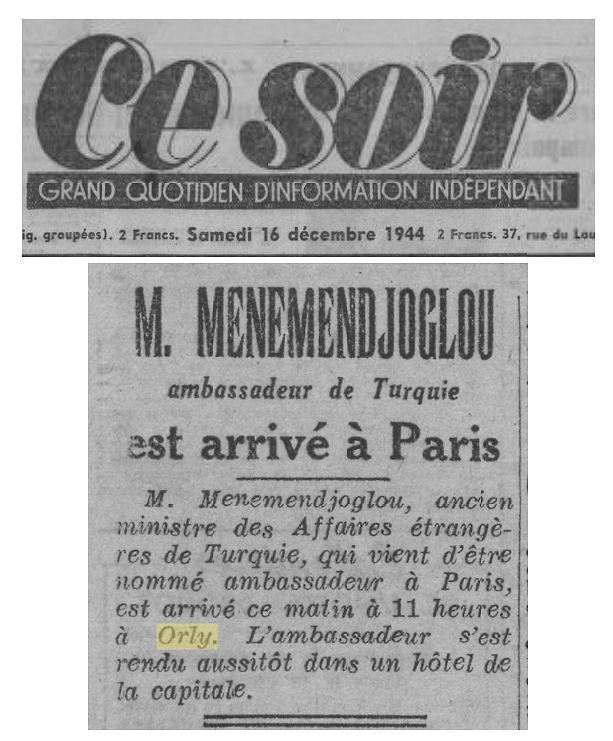 1944 - 16 decembre - Menemendjoglou