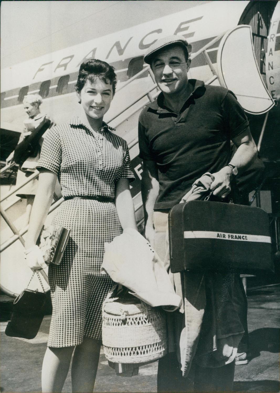 Gene Kelly avec sa fille 1959