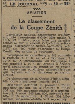 01/10/33 Le Journal