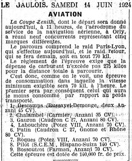 14/06/24 Le Gaulois