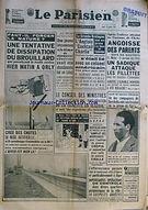 Dissipation Brouillard Orly 1961