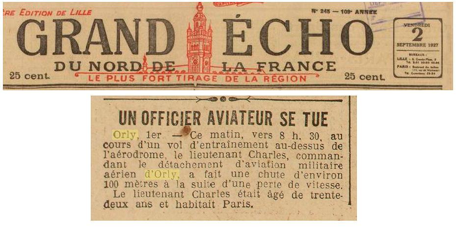 02/09/27 Grand Echo du Nord de la France