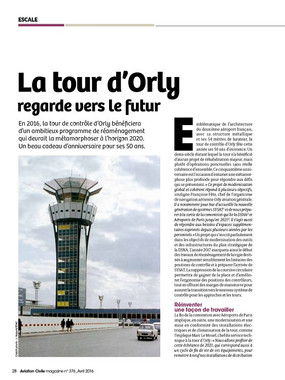 Magazine Aviation Civile numéro 376 - Avril 2016
