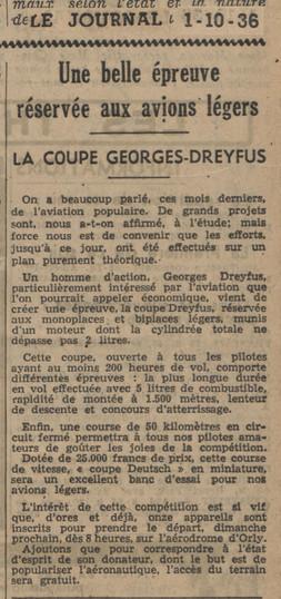 01/10/36 Le Journal