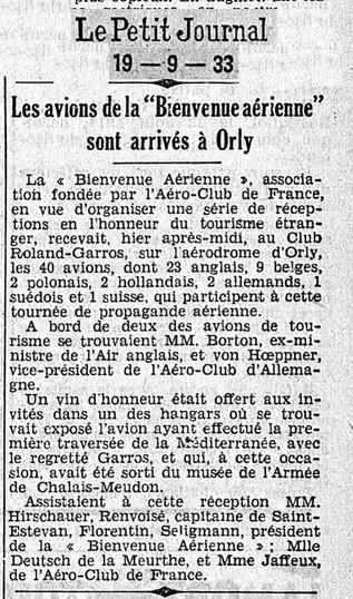 19/09/33 Le Petit Journal