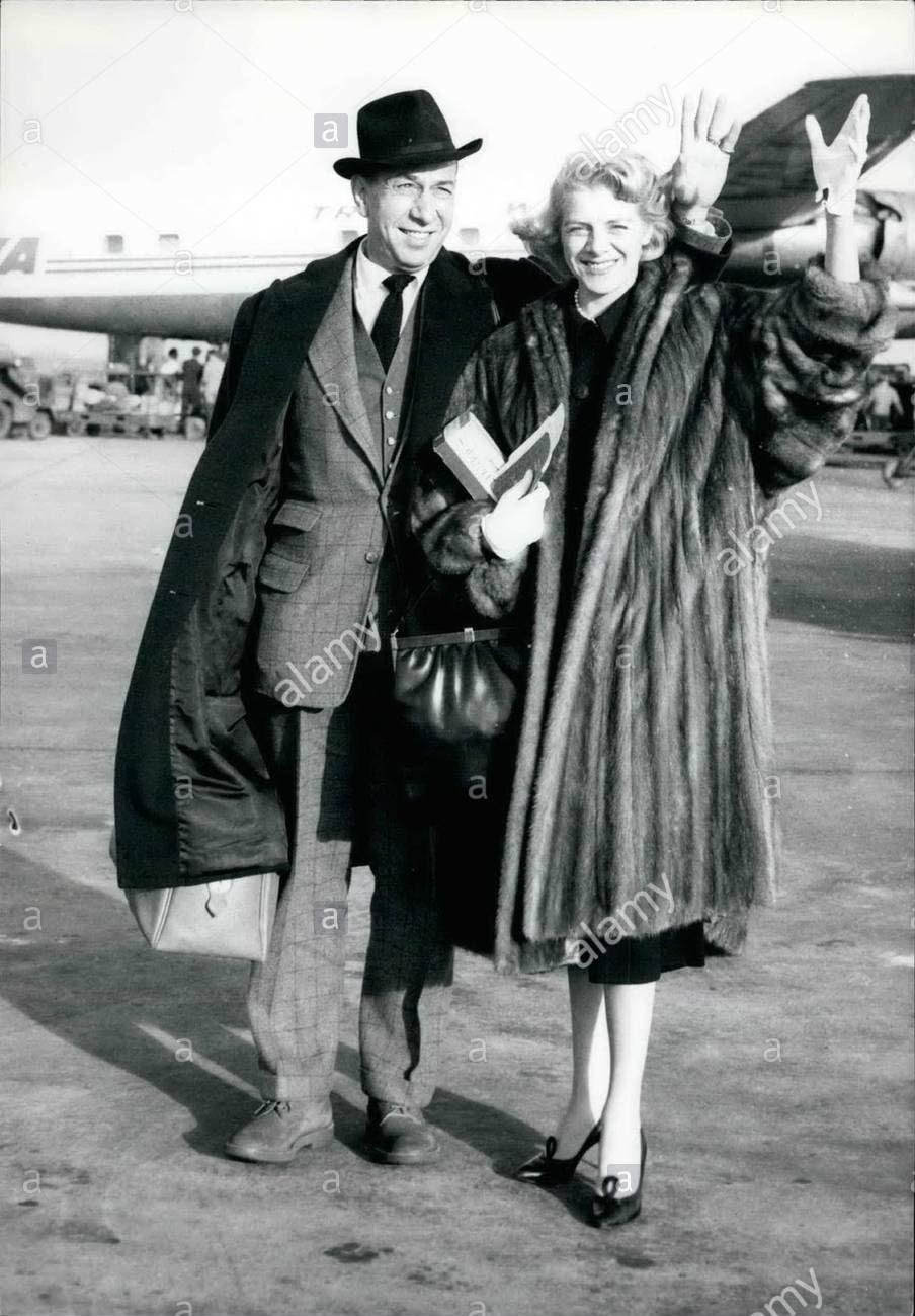 Jose Ferrer -   Ann-Marie Cloune - 1958.