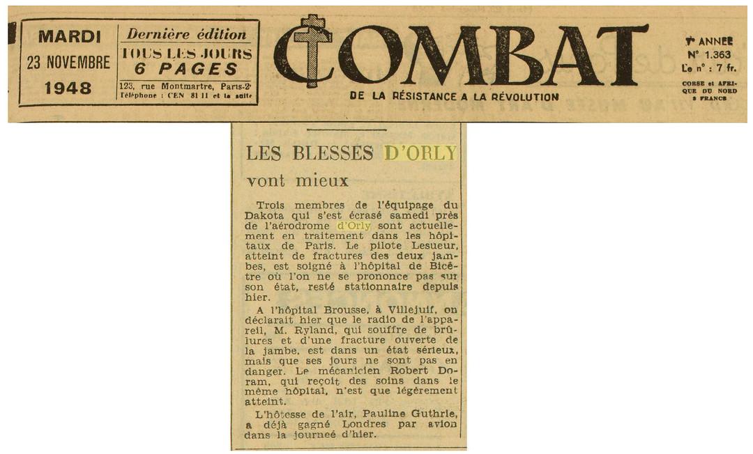 23/11/48 - Journal Combat