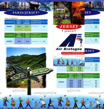 Air Bretagne  Eté/Hiver 2000